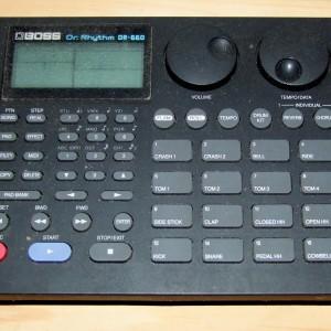 boss dr.rhythm dr-660
