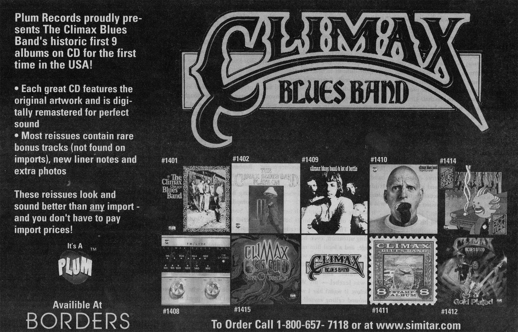 climaxbluesband-borders advert
