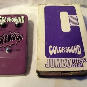 colorsound guitar pedal