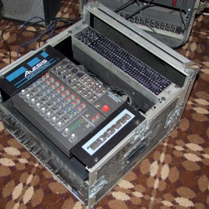 mackie rack mixer