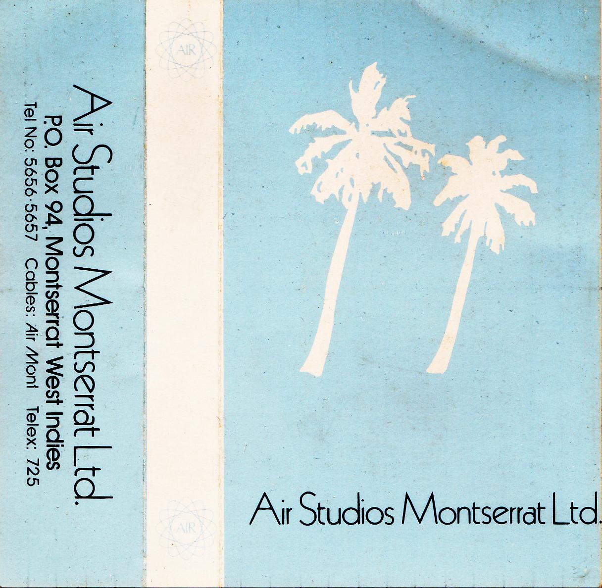 air studios cassette
