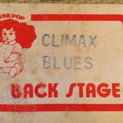 climax blues band-backstage pass-1