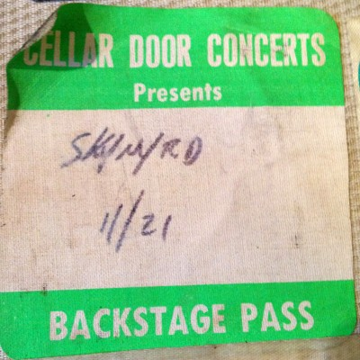 climax blues band-backstage pass-4