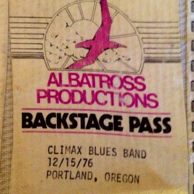 climax blues band-backstage pass-7