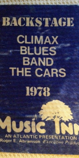 climax blues band-backstage pass-9