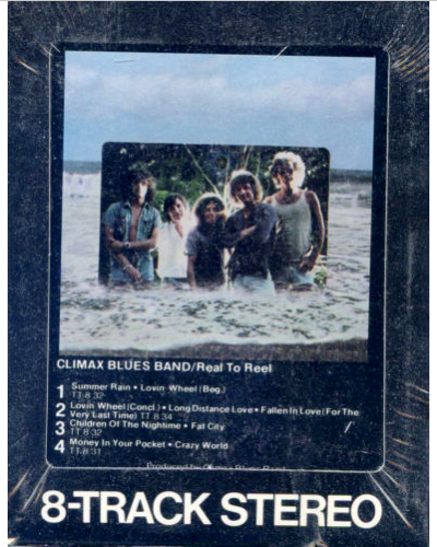 Climax Blues Band 8-Track Tape Real To Real